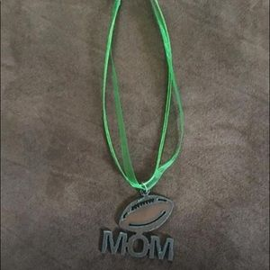 Jewelry - Football Mom rustic necklace